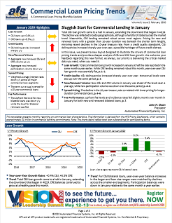 Commercial Loan Pricing Trends Newsletter February 2020