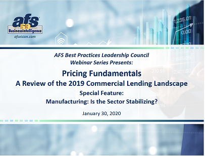 Pricing Fundamentals: A Review of the 2019 Commercial Lending Landscape
