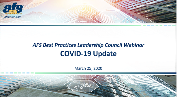 COVID-19 – Issues and Solutions for Lending 3/25