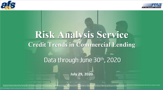 RMA/AFS Credit Trends in  Commercial Lending 2Q2020