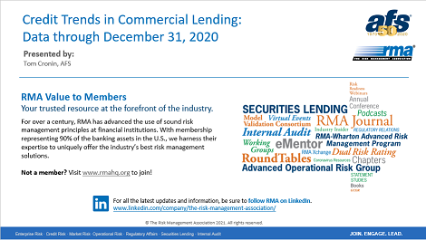 RMA/AFS Credit Trends in Commercial Lending Year End Review