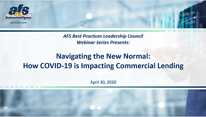 Navigating the New Normal: How COVID-19 is Impacting Commercial Lending
