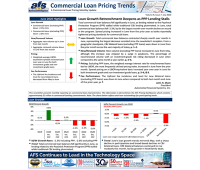 Commercial Loan Pricing Trends Newsletter July 2020